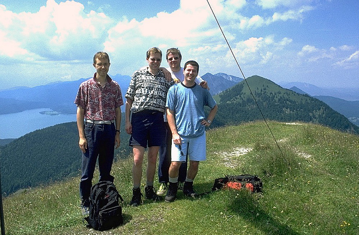 Hirschhörnlkopf Jörg, Michael, Jürgen, Gerald