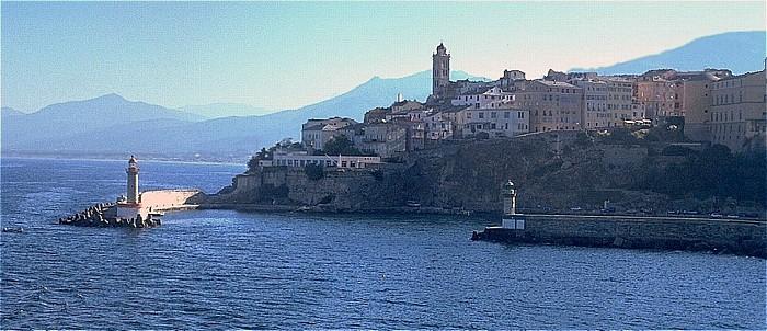 Bastia Zitadelle mit der Église Sainte-Marie Alter Hafen