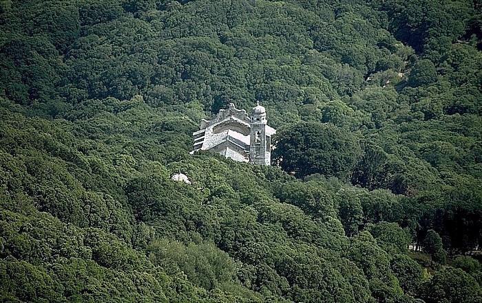 Cap Corse Kirche im Wald (in der Nähe von Ersa)