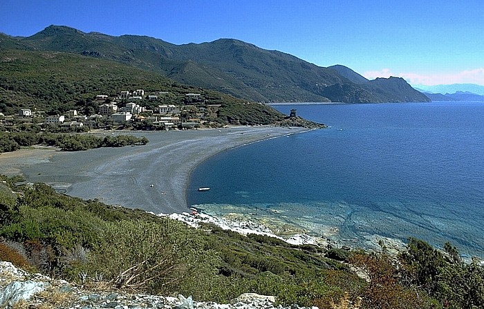 Cap Corse Küstenabschnitt