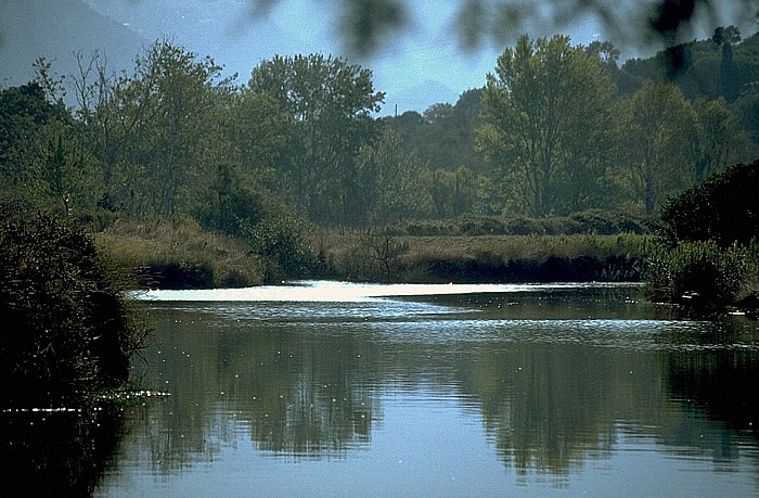 Saint-Florent Campingplatz: Fluss