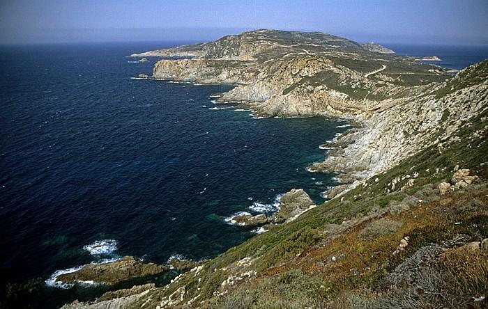 Revellata Küstenabschnitt