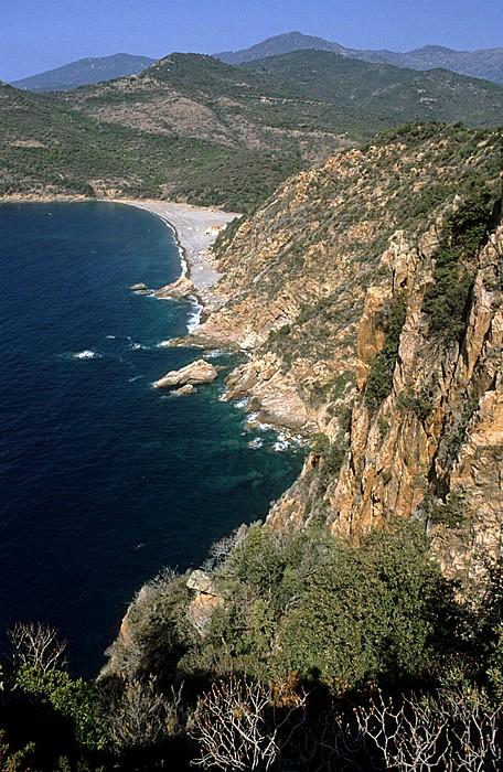 Golfe de Porto Küstenabschnitt