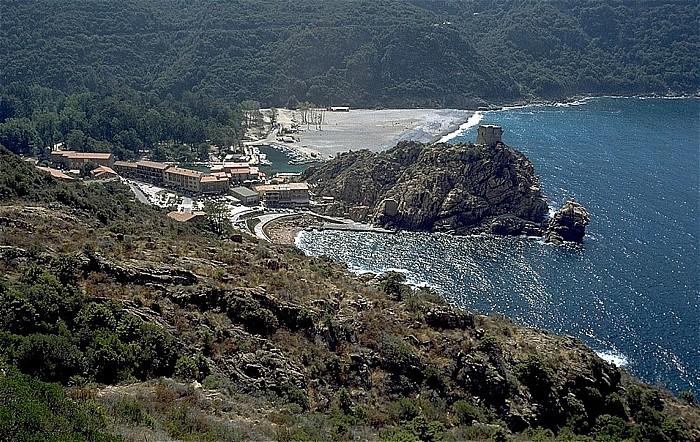 Porto (Korsika) Marine de Porto