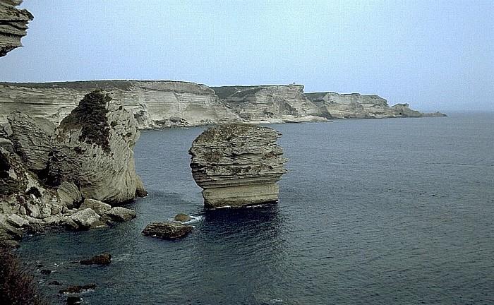 Bonifacio Capo Pertusato Grain de Sable Strand von Sotta Rocca