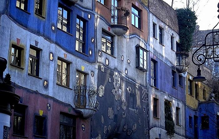 Wien Landstraße (III. Bezirk): Hundertwasser-Haus