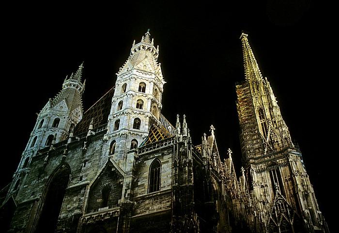 Innere Stadt: Stephansdom Wien 2001