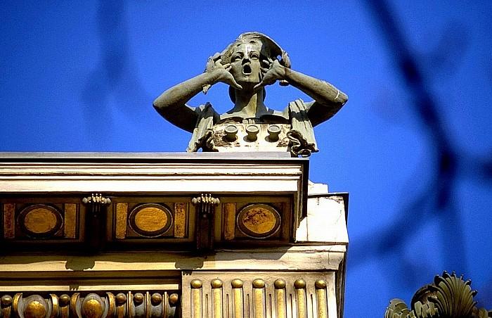 Medallion-Gebäude an der Linken Wienzeile: Wohnhaus von Otto Wagner