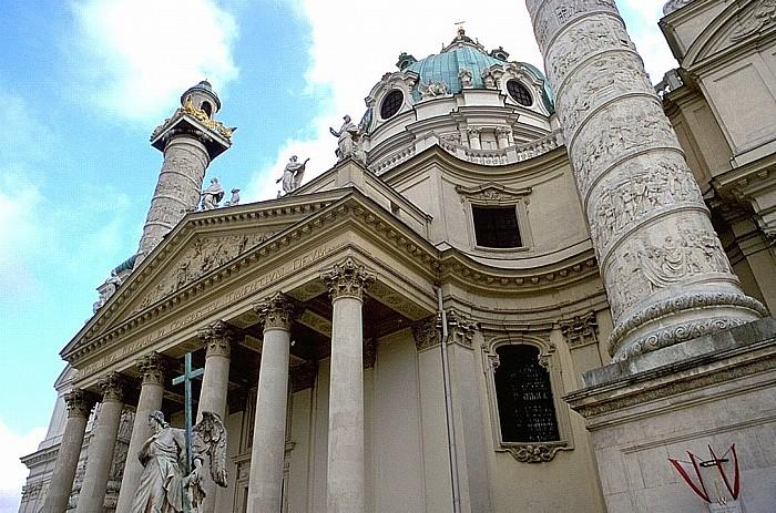 Wieden (IV. Bezirk): Karlskirche Wien 2001