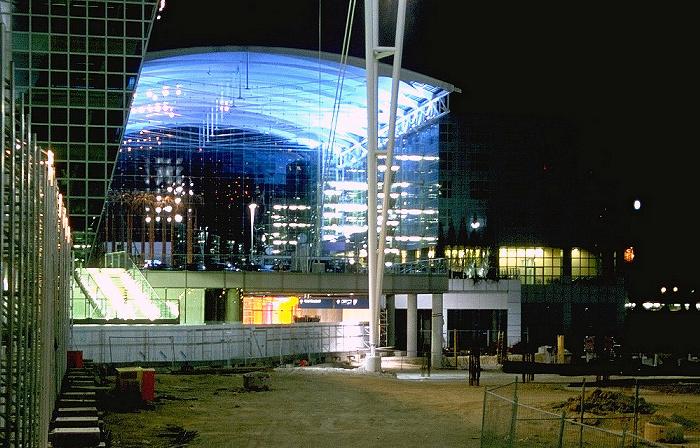München Flughafen Franz Josef Strauß: Baustelle des Terminal 2 und Hotel Kempinski Hotel Kempinski Flughafen