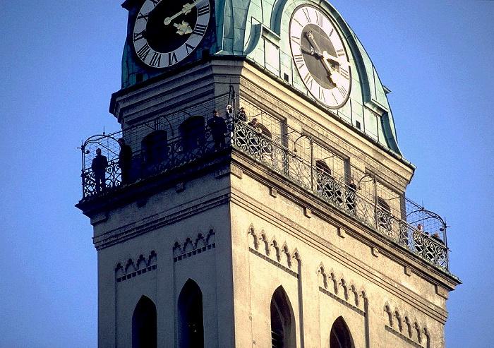 München Turm von St. Peter