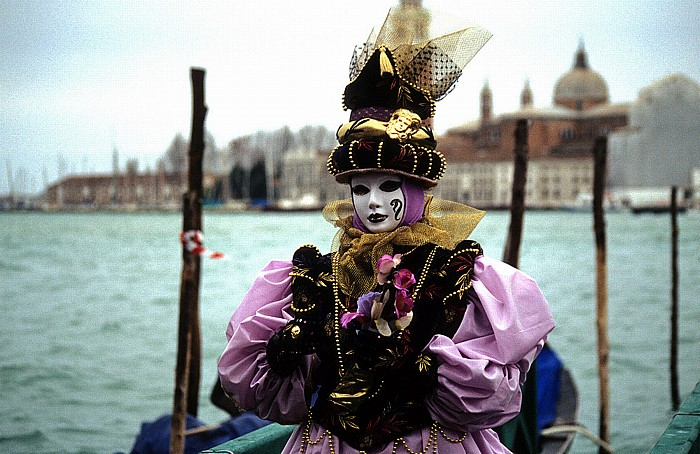 Molo San Marco (Karneval von Venedig) San Giorgio Maggiore
