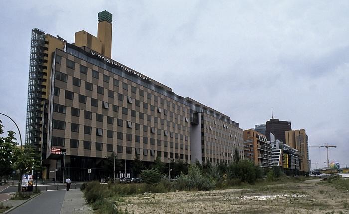 Potsdamer Platz Berlin 2001