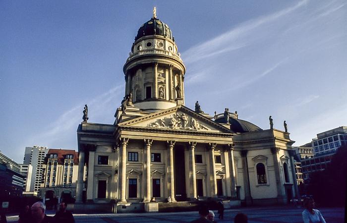 Gendarmenmarkt: Deutscher Dom Berlin 2001