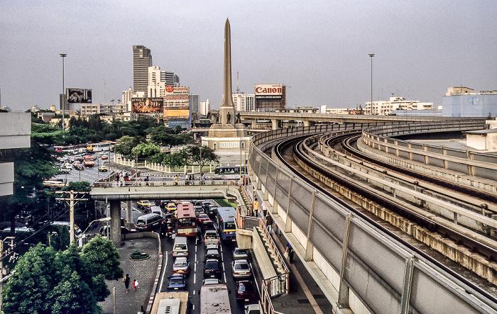 Bangkok Victory Monument Sky Train Sky Train Station Victory Monument