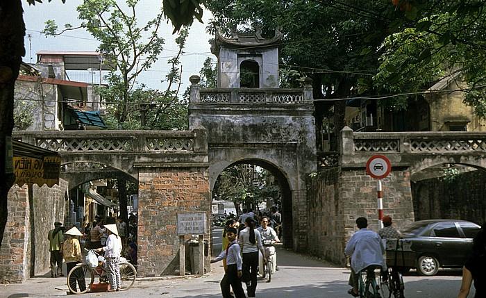 Hanoi Altstadt: Osttor