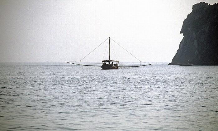 Halong Bay Fischerboot