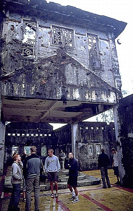 Demilitarisierte Zone Kirchenruine Quang Tri