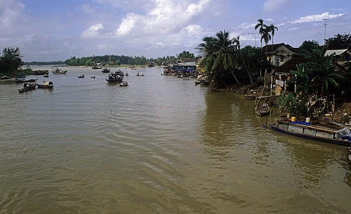 Hoi An Thu Bon-Fluss