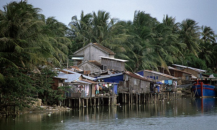Nha Trang Blick von der Xom Bong-Brücke