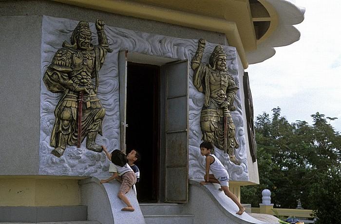 Nha Trang Eingang am Großen Sitzenden Buddha Großer Sitzender Buddha