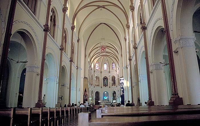 Saigon Notre Dame-Kathedrale: Mittelschiff