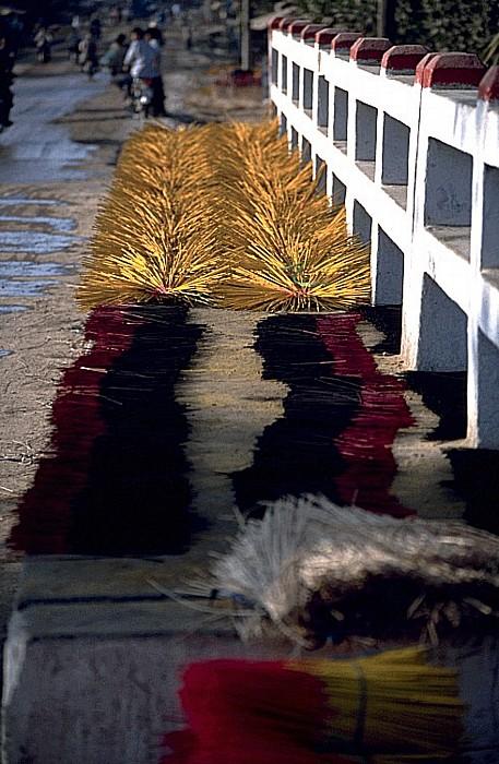Mekong-Delta Zum Trocknen ausgelegte Räucherstäbchen Räucherstäbchen-Herstellung