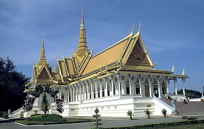 Phnom Penh Königspalast: Thronsaal