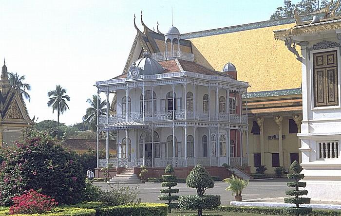 Phnom Penh Königspalast: Geschenk von Napoleon III.