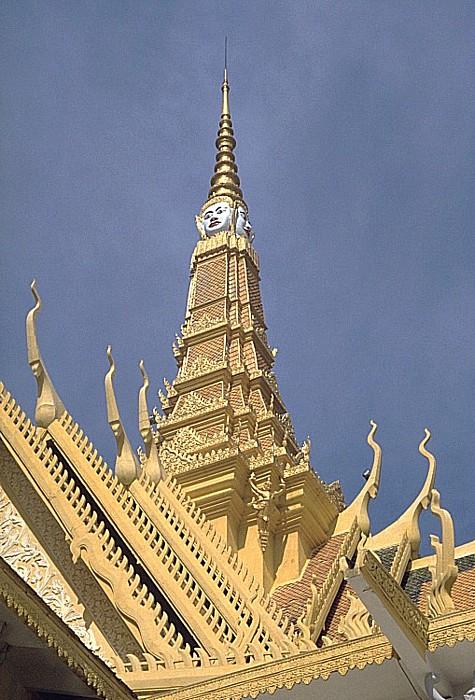 Phnom Penh Königspalast: Spitze des Thronsaals