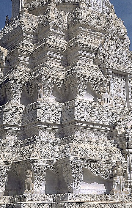 Phnom Penh Silberpagode: Stupa
