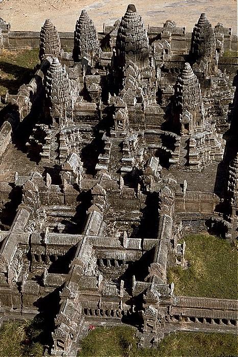 Siem Reap Angkor-Miniaturen