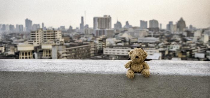 Bangkok Golden Mount: Teddy