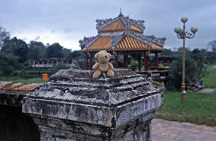 Hue Kaiserpalast: Teddy