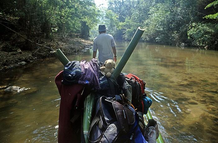Doi Inthanon-Nationalpark Bambus-Floßfahrt: Teddy