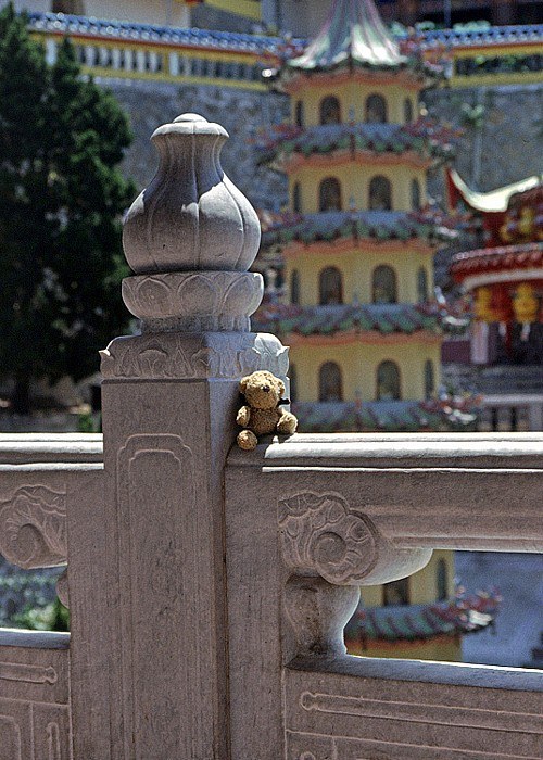 Penang Kek Lok Si-Tempel: Teddy