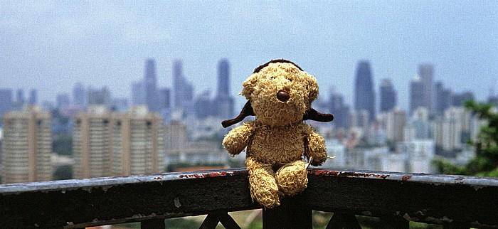 Singapur Mount Faber: Teddy