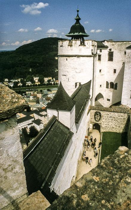 Salzburg Festung Hohensalzburg Kapuzinerberg