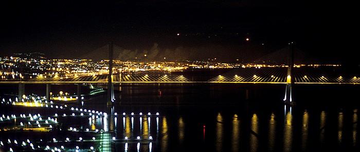 Blick vom Torre Vasco da Gama: Ponte Vasco da Gama Lissabon