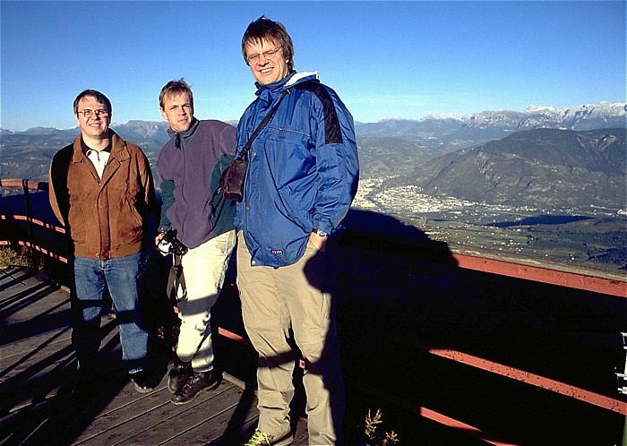 Penegal V.l.: Uwe, Ralph, Jürgen