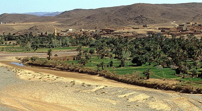 Ouarzazate Blick von der Kasbah Tiffoultoute