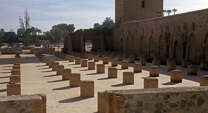 Marrakesch Koutoubia-Moschee: Reste der ursprünglichen Moschee