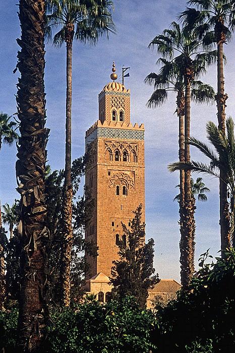 Marrakesch Koutoubia-Moschee: Minarett