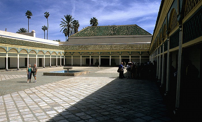 Marrakesch Palais de Bahia