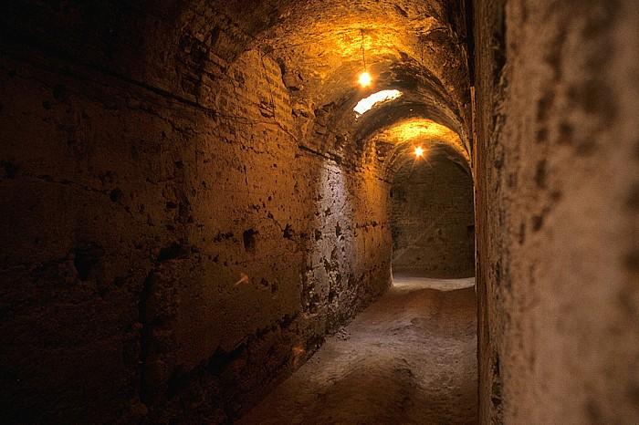 Marrakesch Palais el Badi: Teil des ehemaligen unterirdischen Gefängnisses Palais El Badi