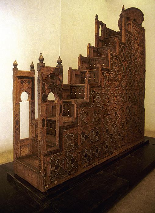 Marrakesch Palais el Badi: Minbar der Koutoubia-Moschee Palais El Badi