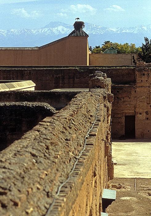 Marrakesch Palais el Badi: Mauerruninen Palais El Badi