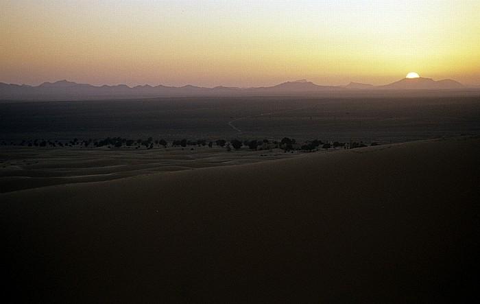 Erg Chebbi Sonnenuntergang