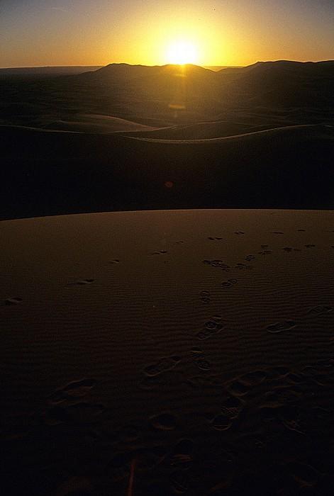 Erg Chebbi Sonnenaufgang