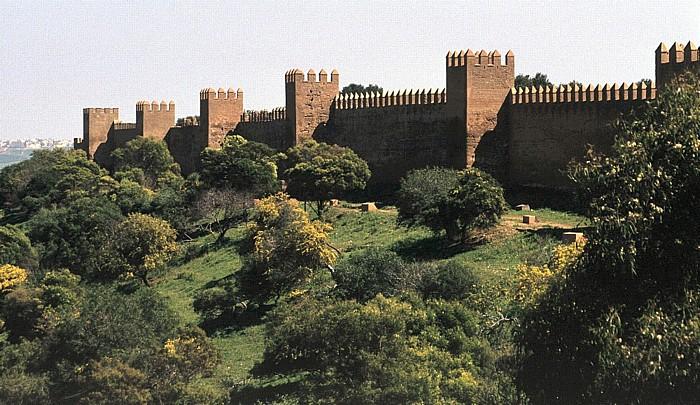 Rabat Chellah: Mauer des Abou el-Hassan